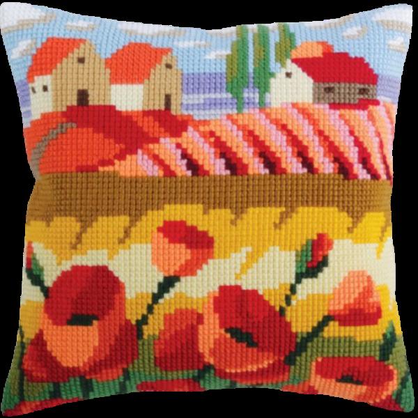 Poppy Field CD5320 Cross-stitch