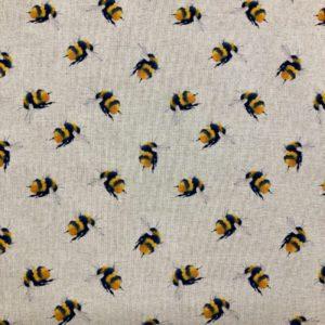 Bumblebee Linen Look Popart