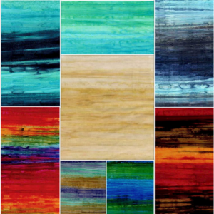 Landscape Stripes Fat Quarter-8Piece