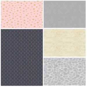 Marvellous Metallics Fat Quarter Bundle-Two