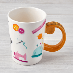 Tape Measure Handle Mug-N43712