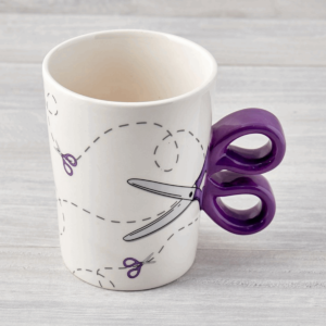 Sewing Mug Scissor N43713-Purple