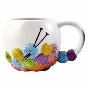 Knitting Mug-N43714 Knitting Design
