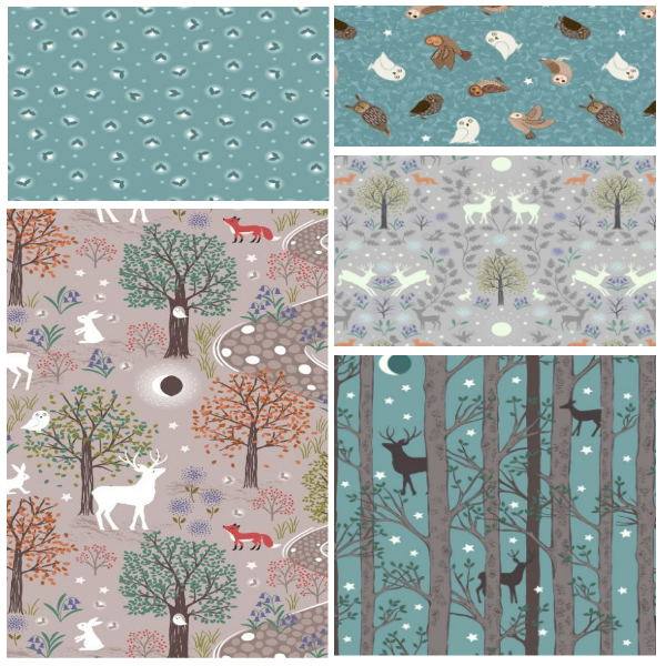 Nighttime in Bluebell Wood-Bundle One