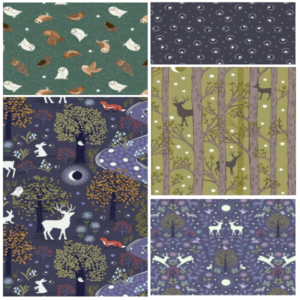 Nighttime in Bluebell Wood-bundle Three