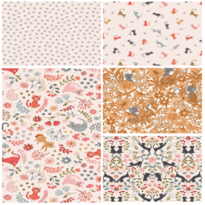 Purrfect Petals Fat Quarter Bundle One