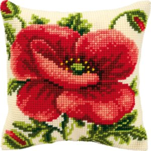 Oriental Poppy Cross-Stitch PN000873