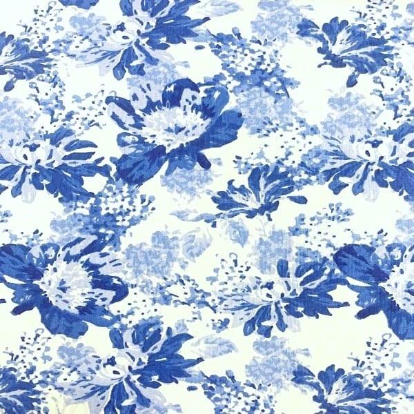 2585-02 Chintz Floral: Bouquet: Fabric Palette