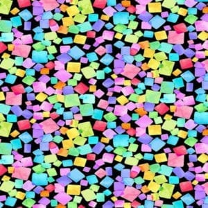 Rainbow Dream Cubes Dream-CD-8205-Black