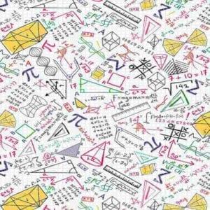 Colourful Math Doodles C8230.Gail