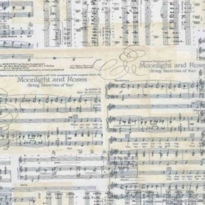 Sheet Music C7308.Music Antique