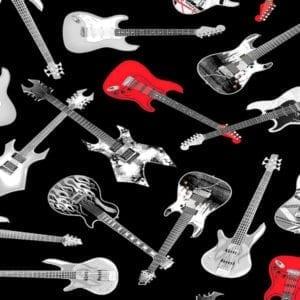 Tossed Guitars Music-C8358