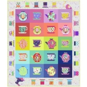 Tula Pink Mad Hatters Tea Party Quilt Kit