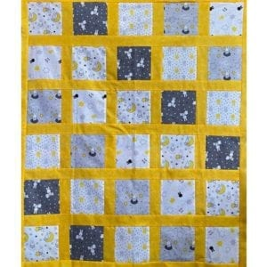 Cot Quilt Kit - Miffy