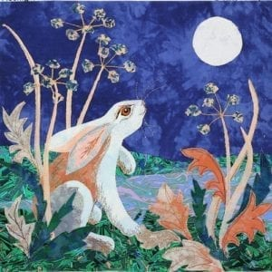 Moonlight Hare Applique