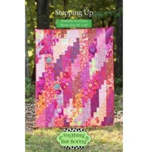 Stepping Up 6inch strips Pattern