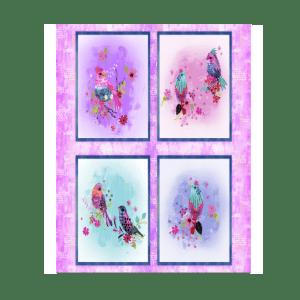 Bright Birds Multi 14987 Panel