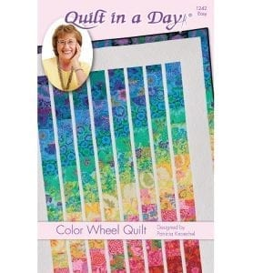 Colour Wheel Quilt in a Day
