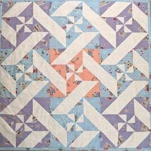 Pinwheel Quilt kit