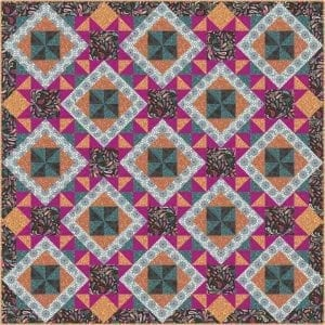 Soraya Quilt Kit Colourway-3