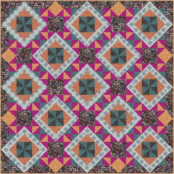 Soraya Quilt Kit Colourway-3