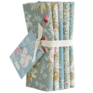 Woodland fat Quarter Bundle-Sage
