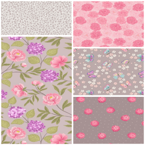 Love Blooms Fat Quarter Two