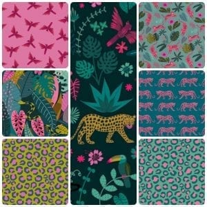 Fat Quarter Pack: Night Jungle