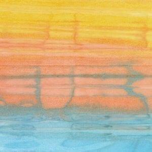 Watercolour Stripe Aura B8313