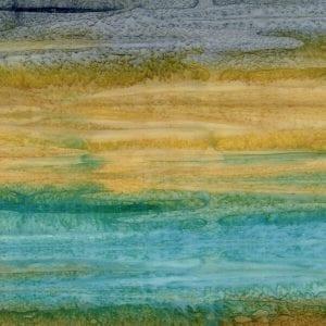 Watercolour Stripe Ginger B8313