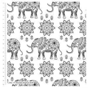 2762-01-Mandala Elephants