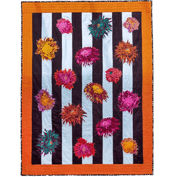 Blooming Columns, Quilts in an English Village