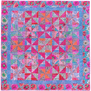 Cotton Candy Pinwheels Quilts in an English Village