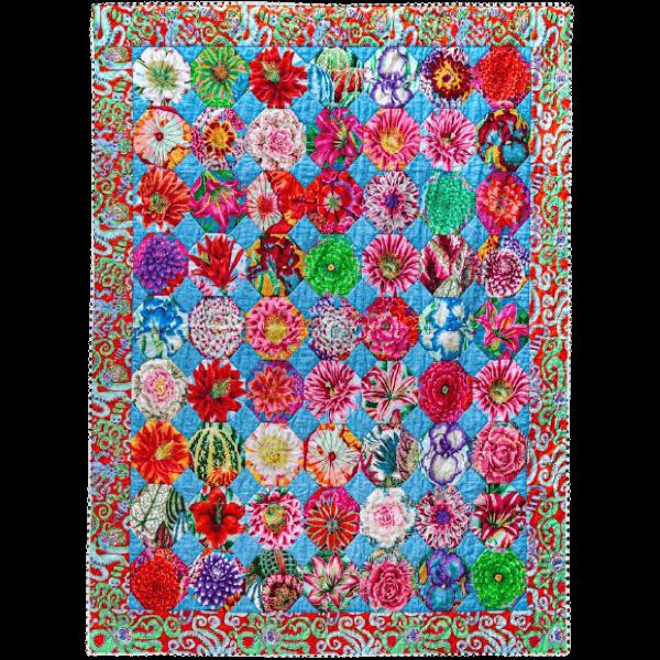 Cotton Garden Flowers, Quilts in an English Village