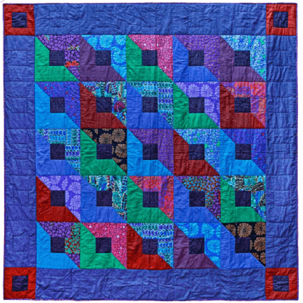 Dark Boxes, Quilts in an English Village by Kaffe Fassett