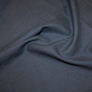 Enzyme Washed Linen Denim