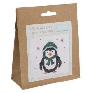 Cross-Stitch Kit Penguin