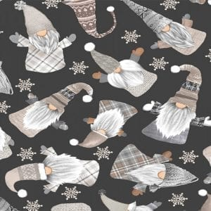 holiday gnomes c8207-gail black