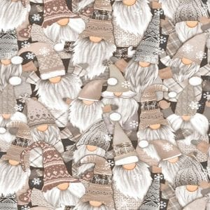 Holiday Gnomes C8208-Gail Natural