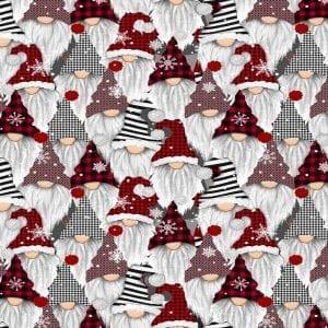 Holiday Gnomes C8223-Gail Multi
