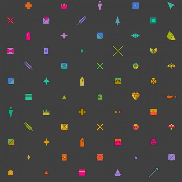 Sunprints Trinket Night A9730-C