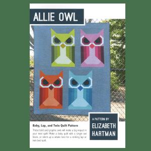 Quilt Pattern Allie Owl