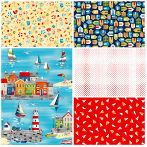 Beside the Sea Fat Quarter One