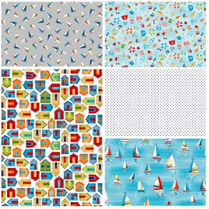 Beside the Sea Fat quarter Two