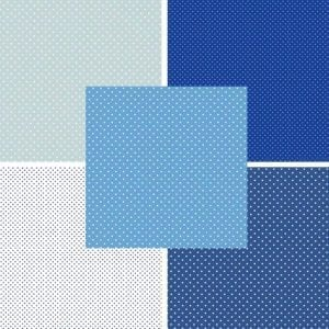 Blues Spot Fat Quarter Pack