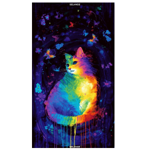Meowza Mystical Cat C7484-Panel