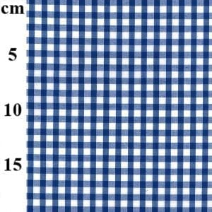 Royal Blue Poly/Cotton Gingham