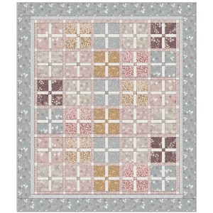 Fairy Clocks Quilt Kit
