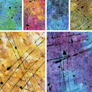 Tonga Batiks - Impact-Splattered Thin Paint
