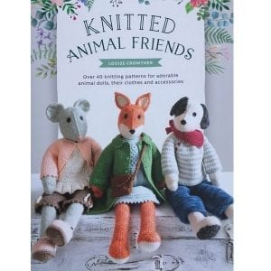 Knitted Animal Friends Cover